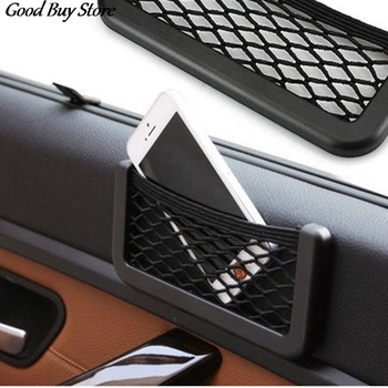 Seat Storage Bag Car Magic Sticker Organizer Pocket Luggage Holder Pockets Mesh Net Pouch for Hanging Container