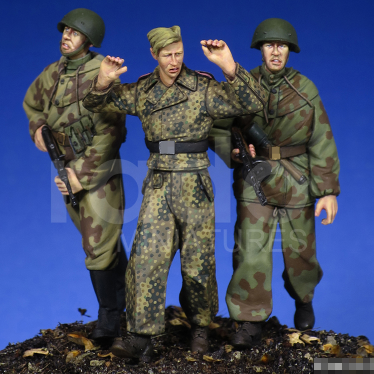 1/35 Soviet Soldier, WW2, Resin Model Soldier GK, Military Themes, Unassembled And Unpainted Kit