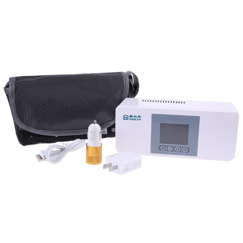 Portable Insulin Cooler Travel Case Cold Medicine Storage Bag Refrigerated Box Rechargeable Mini Refrigerator For Diabetic
