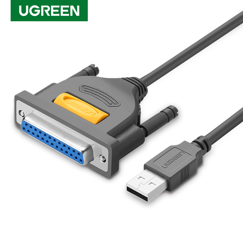 Ugreen USB à DB25 câble d'imprimante parallèle mâle à femelle Port LPT DB25 convertisseur câble d'impression 25 broches 25Pin LPT USB à DB25