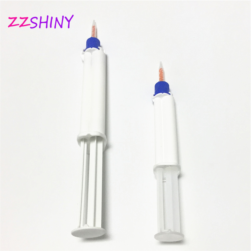 Free Shipping Dental Clinic 35% HP Teeth Whitening Gel Dual Barrel Syringe Professional Hydrogen Peroxide Bleaching Material