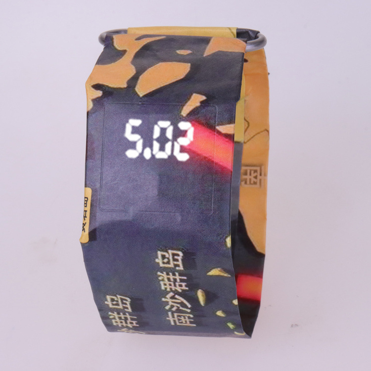 2020 Trendy DIGITAL LED Watch Paper Water/Tear Resistant Watch Perfect Gift 15 12
