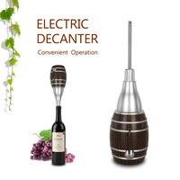 ITOP Electric Mini Wine Decanter Retro Fashion Beautiful Convenient Wine Equipment Tool For Family Bar