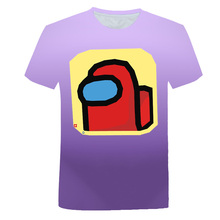 Children Tshirt Among Us Tops Game Graphic Funny Baby Summer Kids Cartoon Hot Harajuku