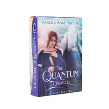 Board-Game Tarot-Cards Divination Quantum Oracle Fortune Entertainment English Adult's