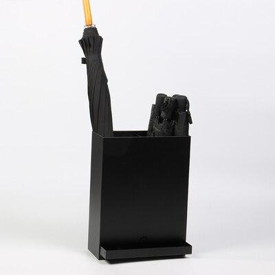 Железный Зонт Стенд Многофункциональный зонтик ведро с лотком для хранения воды Стенд можно повесить маленький футляр для зонта ведро - Цвет: F