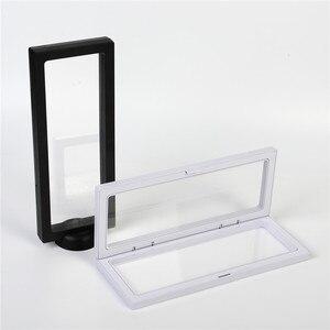 50 шт./лот, 3D модная рамка, коробка для теней, ожерелье, дисплей, пустая монета, коробка для часов, прозрачная подвеска, коробка