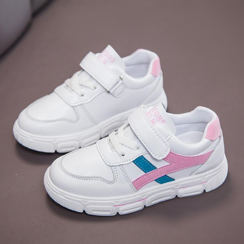 4 5 6 7 8 9 10 11 12 Old Years 2020 New Spring Autumn Casual Falt Shoes For Girls Boys School Kids White Sneaker Shoes