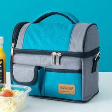 Новая модная сумка для ланча gumst термоизолированная еды женщин
