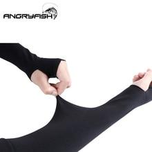 Ледяная ткань рукава летняя спортивная защита от ультрафиолетовых лучей Бег Велоспорт Вождение Рыбалка светоотражающие солнцезащитные полосы