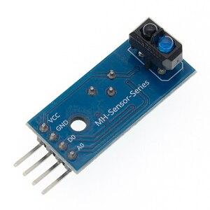 Image 5 - 50 pcs/lot TCRT5000 infrared reflectance sensor Obstacle avoidance module tracing sensor tracing module