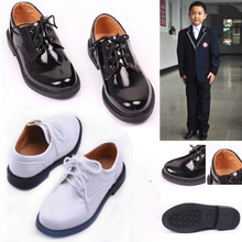 Kids Shoes New Children Leather Shoes for Baby Boys Dress Bl