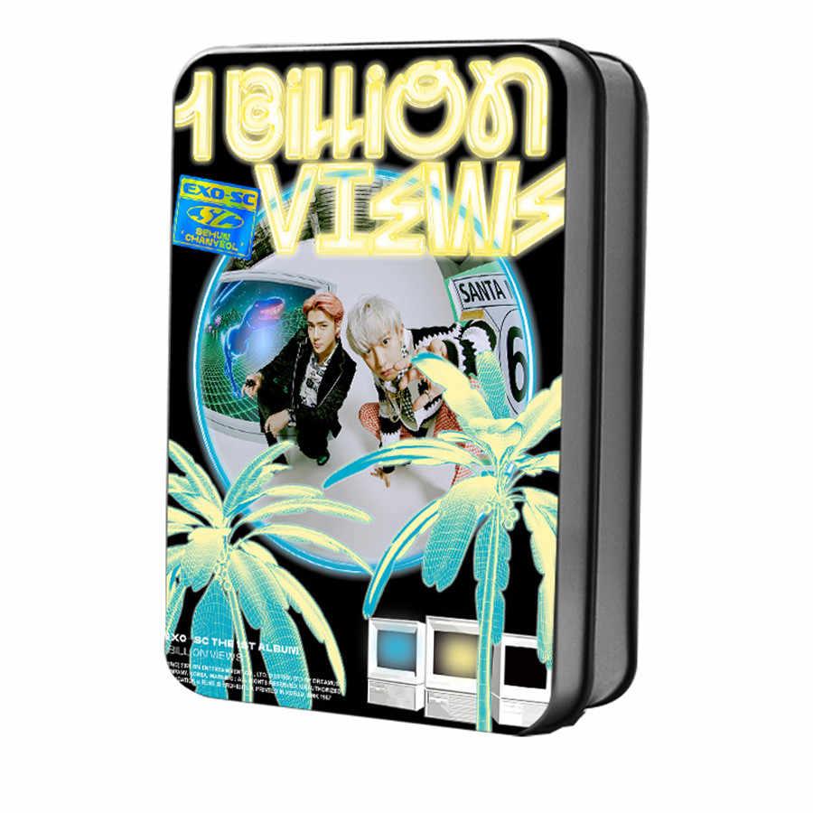 Kpop EXO SC Sehun Chanyeol Billion Views Photocard Polaroid Lomo Photo Card 40pcs set.jpg q50