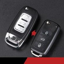 Auto Geändert Remote Key Shell Fob für VW Golf Jetta Polo Tiguan Passat EOS Remote Key Fall für Skoda Schnelle superb Octavia Fabia