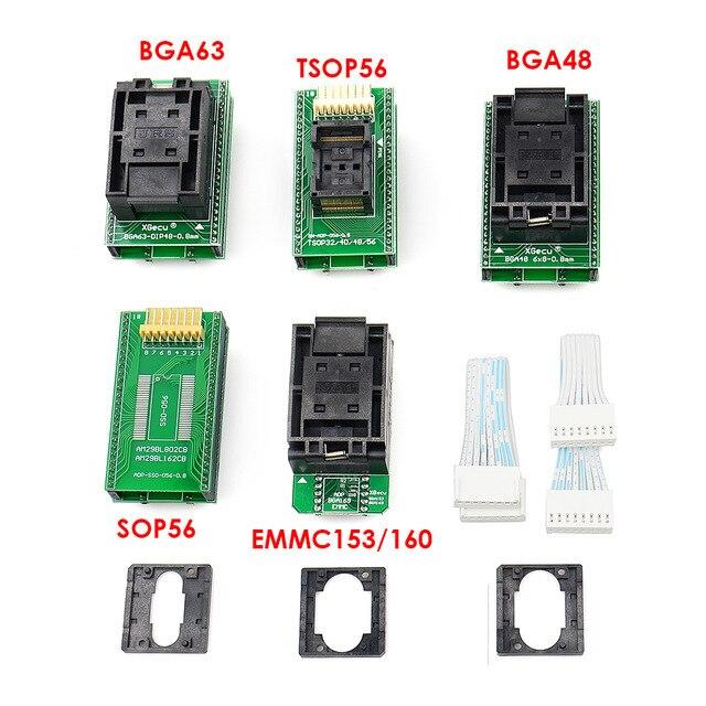 XGecu T56 Bios EPROM EEPROM Programmer 56 Pin Drivers ISP Support 20000+