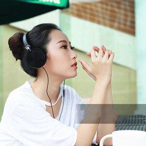 Image 2 - 新しいステレオ低音ヘッドフォンとマイクをキャンセルする低音サウンドハイファイ音楽イヤホンソニーiphone xiaomi pc