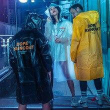 Aolamegs Men Coat Waterproof Trench Cardigan Raincoat Male M