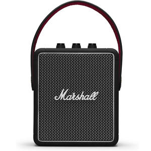 Bluetooth-Speaker Marshall Rock Retro Stockwell-Ii Portable Wireless for Bt-Bass Black