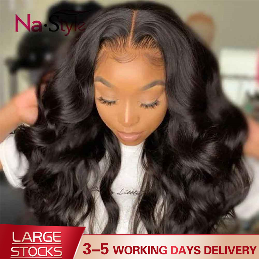 Transparent Lace Wig 250 Density Lace Front Wig Invisible Lace Front Human Hair Wigs Body Wave Preplucked Lace Wig Brazilian