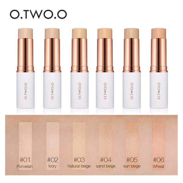 O.TWO.O Concealer Stick Foundation Makeup Full Coverage Contour Face Concealer Cream Base Primer Moisturizer Hide Blemish 1