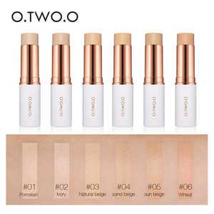 O.TWO.O консилер-Стик, основа для макияжа, полное покрытие, контур, консилер для лица, крем, основа, Праймер, увлажняющий, скрытый дефект