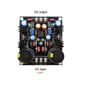 Image 4 - Lusya LM317 LM337 Servo Rettifica Filtro Scheda di Alimentazione AC a DC Filtro di Alimentazione G12 012