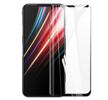 Перейти на Алиэкспресс и купить 2 шт. 2.5D 9H Защита экрана для Nubia Red Magic 5G полное покрытие закаленное стекло Взрывозащищенная стеклянная пленка Красная Волшебная 5S пленка
