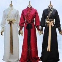 Costume de danse Hanfu chinois pour femme, Costume de danse ancienne dynastie Han, pour scène, pour fête du nouvel an