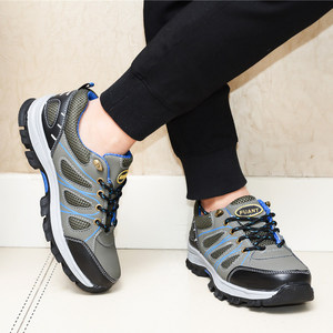 Image 5 - Mens Heavy Duty Safety Shoes With Steel Toe Cap Protective Footwear Outdoor Working Boots