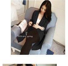Women Clothes Suit Jacket Female Long Section Spring New Slim Women's Korean The Coat Jacket Female Suit Women's Clothing