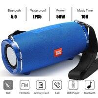 Bluetooth Speaker column Wireless portable sound box 50W stereo subwoofer fm radio boombox usb pc soundbar caixa de som