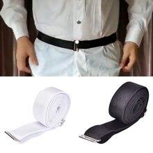 1 шт регулируемый ремень для рубашки унисекс против морщин держатель