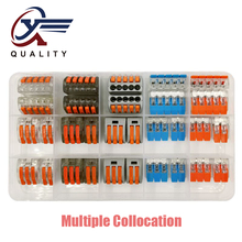 XinYa 30PCS/BOX 412 413 415 Universal Compact Wiring Conector Terminal Block Connectors Terminator Wire Connector AWG 28-12 wago type 222 412 413 415 10pcs universal compact wiring conector terminal block connectors terminator wire connector awg 28 12 page 9