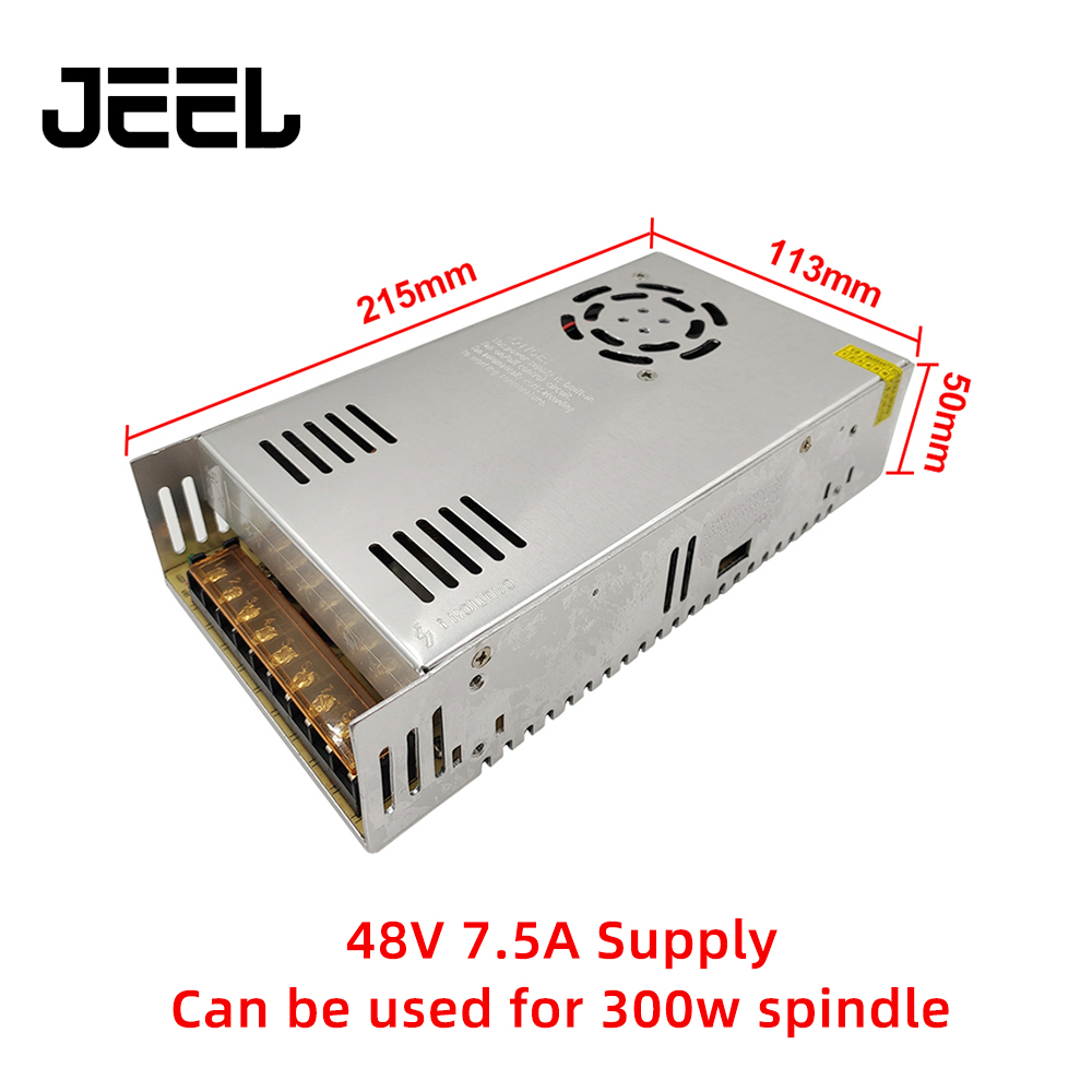AC 100-240V High Quality DC 48V 7.5A 360W Switching Power Supply Driver For CNC Engraving Machine