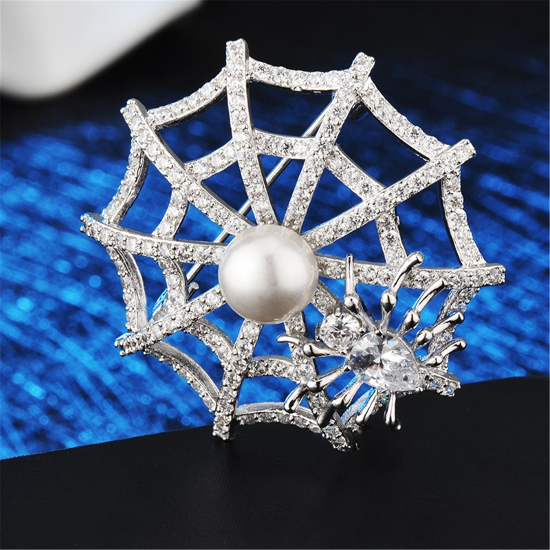 spider web Brooches Women Weddings Brooch Gifts for Clothing Jewelry Accessories