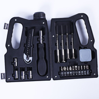 Tambor de óleo ferragem caixa de ferramentas de lixo criativo multi funcional 11 peças caixa de ferramentas do agregado familiar conjunto manual|Conj. ferramentas elétricas| |  -