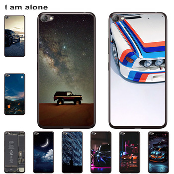 I am alone Phone Cases For Lenovo S8 A7600 S60 S60-T Sisley S90 Cute Back Cover Mobile Fashion Bags Free Shipping image