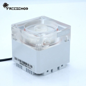Image 5 - FREEZEMOD 140mm pump & reservoir kit Aluminum cover RGB control or AURA synchronization,PUB FS6MA 14