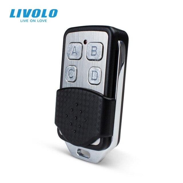 Livolo Wall Light Switch Accessories, RF Mini Remote Controller, Wall Light Remote Switch Controller VL-RMT-02