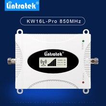 Lintratek novo 850mhz b5 amplificador agc alc lcd inteligente repetidor de sinal celular 850mhz 3g gsm cdma amplificador de señal