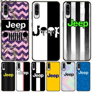 CUCI Hot Car Jeep Logo Soft Silicone TPU Phone Cover For Samsung A10 20 30 40 50 70 10S 20S 2 Core C8 A30S A50S A7 8 9