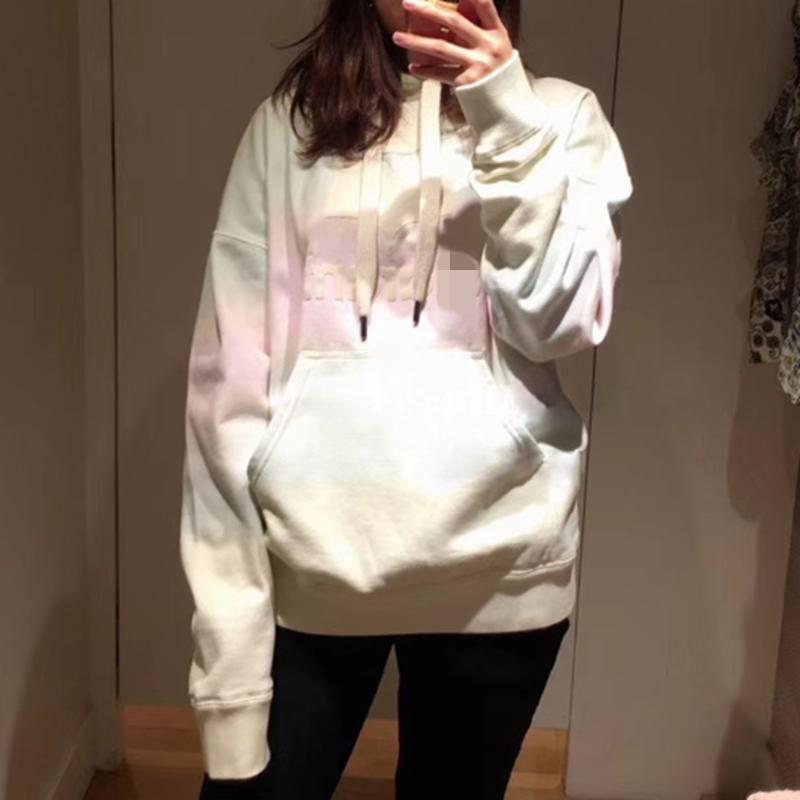 Woman Cotton Hoodies Runway 2020 Hooded Sweatshirts