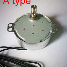 Индивидуальные TYC-50 переменного тока 5V 6V 9V 12V 24V 110V 220V 50/60Hz 0,9-70 оборотов в минуту 4W вращение по часовой стрелке и против часовой стрелке по и против часовой стрелки синхронный Шестерни мотор