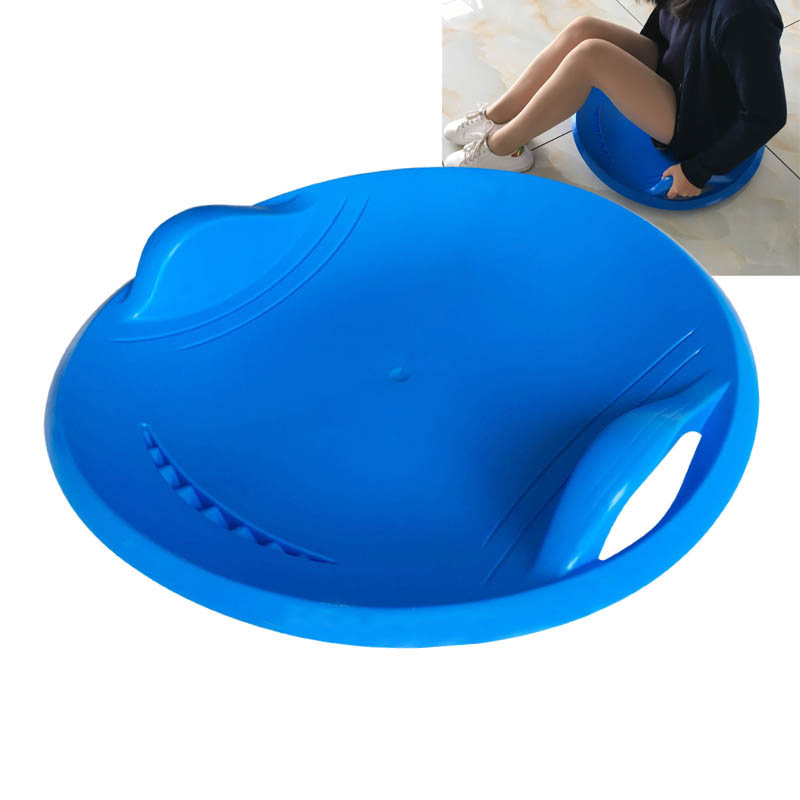 ZWSnow Sled With Handles Brake Large Thick Portable Sand Grass Slider Disc Pad Board  Adult Children Sports Snowboards Toy