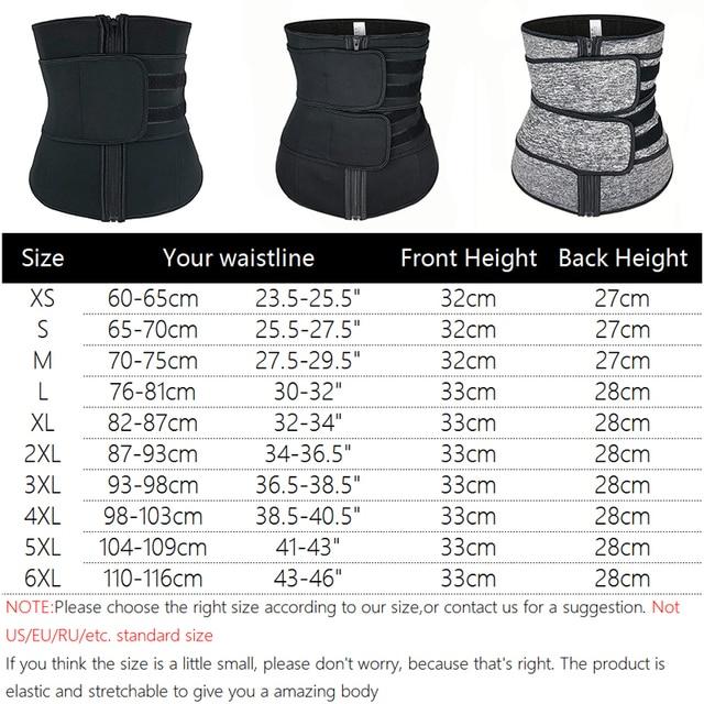 Men Upgraded Version Sweat Belt Waist Trainer Cincher Trimmer Neoprene Hourglass Slimming Body Shaper Band Workout Back Support 1