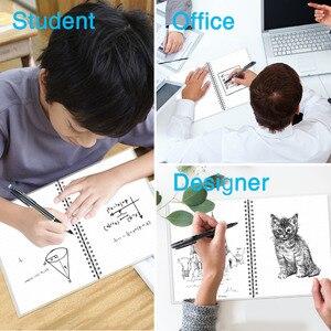 Image 3 - NEWYES dot grille Smart réutilisable effaçable spirale A4 cahier papier bloc notes Journal Journal bureau école voyageurs dessin cadeau