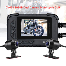 Blueskysea 2.4 DV688 DVR Full HD Motorcycle GPS Camera Dual Dash Cam Motorbike Sony IMX323 Sport Waterproof Dashcam