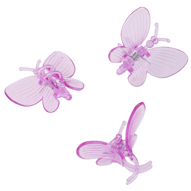 30 шт. Бабочка орхидея зажимы растение зажимы сад цветок виноградная лоза поддержка зажимы