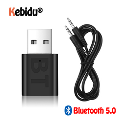 New USB Wireless Bluetooth 5.0 Receiver Adapter Music Speakers 3.5mm AUX Car Stereo Audio Adapter For TV Headphone