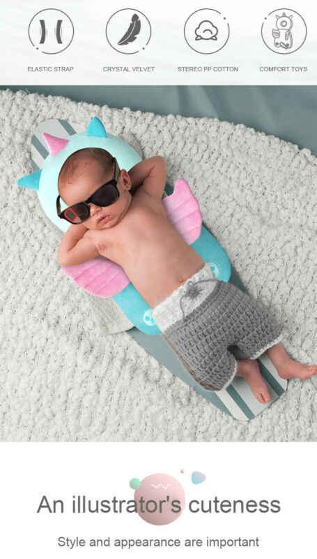 Nova criança do bebê menino menina dos desenhos animados animal cabeça protetor almofada de segurança para trás evitar ferido saco brinquedos 1-3y
